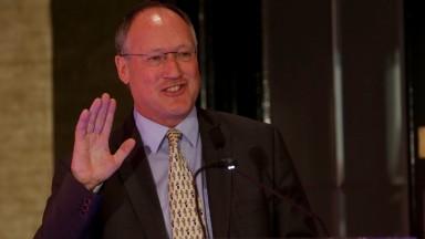 BHA chairman Steve Harman was guest speaker at the ROA agm