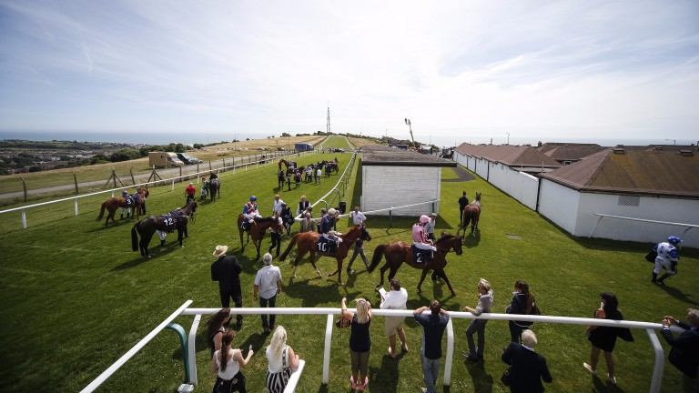 Out on the track: the racecourse is the place of work for a wide range of jobs