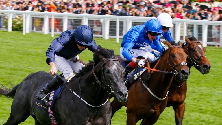 Caravaggio (left) mixes it with Harry Angel (middle) again