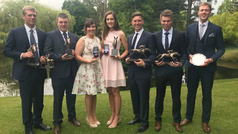 Individual award winners L-R William Mc Neill, Thomas Kehoe, Samantha Cripps, Emma Hannon, Michael Balaz, Thomas Leffray, Bobby Kehoe