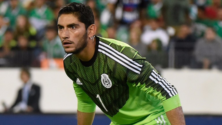 Jesus Corona will be Mexico's most capped player