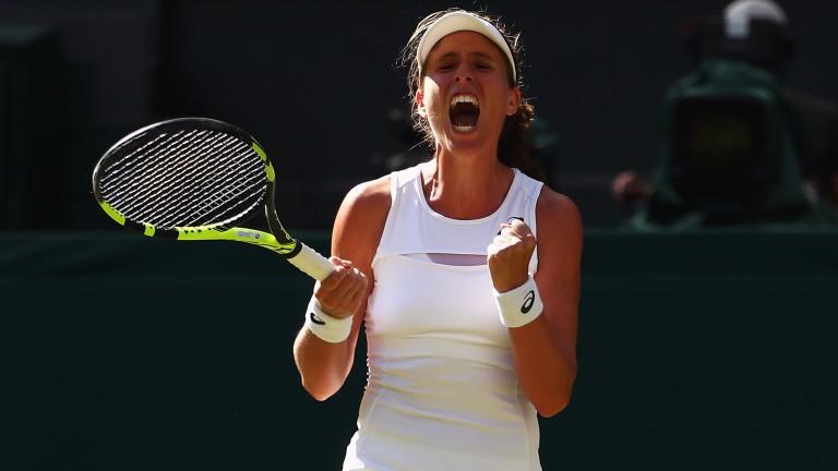 Britain's Johanna Konta is now favourite to win Wimbledon