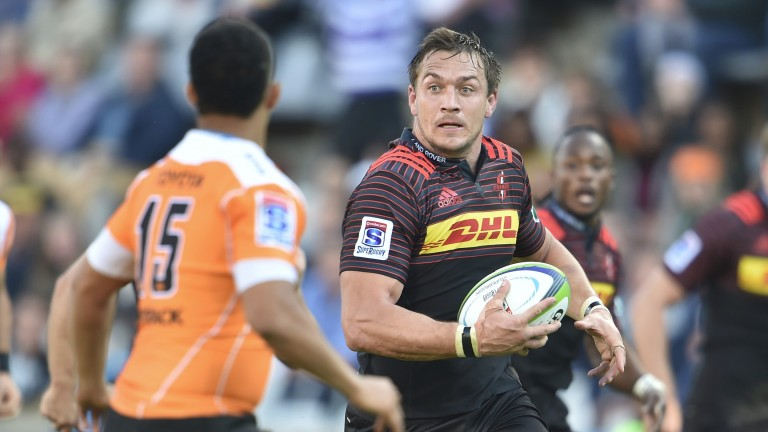 Stormers' Rynardt Elstadt in action against the Cheetahs