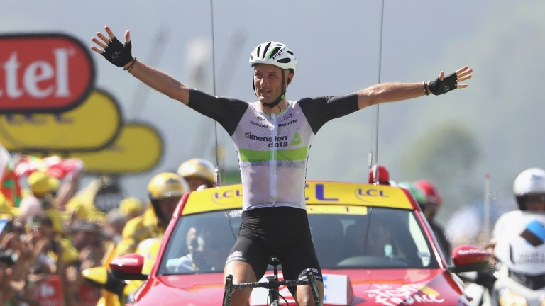 Brit Steve Cummings is hunting a third Tour de France stage win