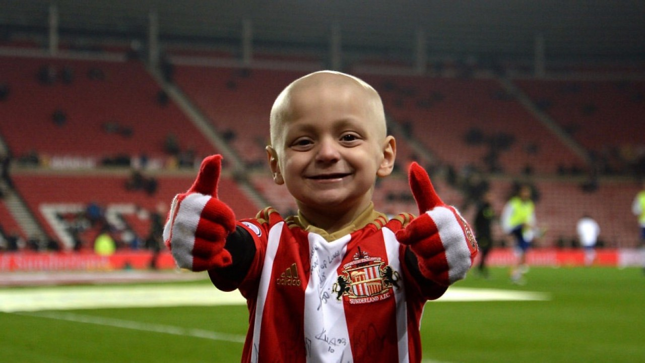 The brave boy who captured the hearts of football fans — Bradley Lowery