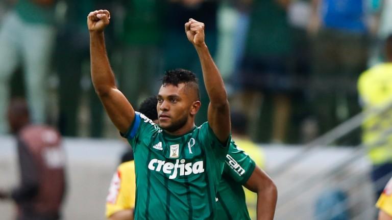 Miguel Borja of Palmeiras