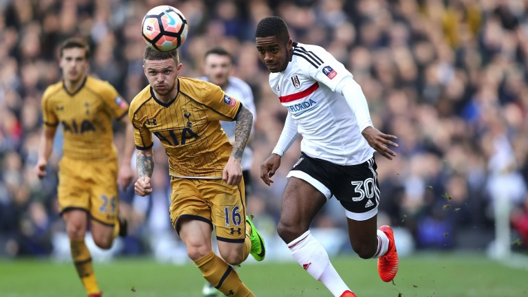 Fulham's Ryan Sessegnon (right) can trouble Germany down the left flank