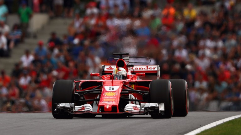 Sebastian Vettel missed out on pole by just 0.04 seconds