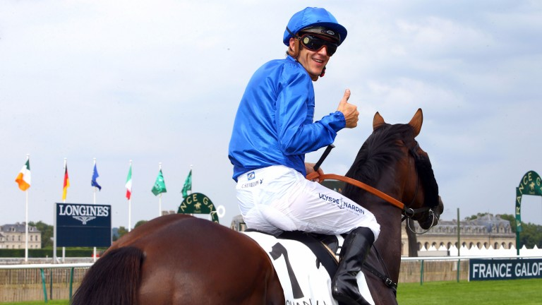 Thunder Snow: partnered by Christophe Soumillon once more