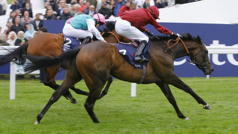 Jamie Spencer and Sariska get the better of Midday at Epsom