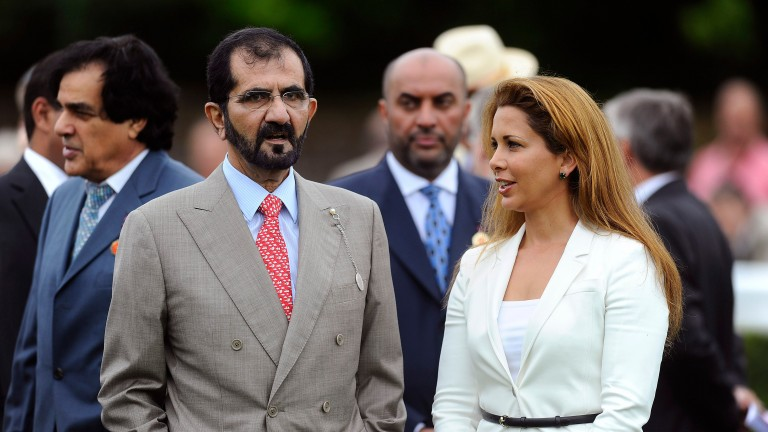 Sheikh Mohammed and Princess Haya's daughter Sheikha Al Jalila is to race a string of horses in her father's old maroon and white silks