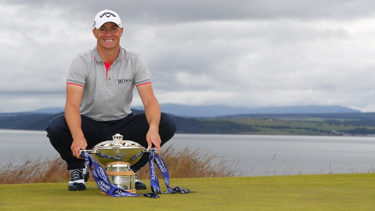Alex Noren was triumphant in Scotland last year