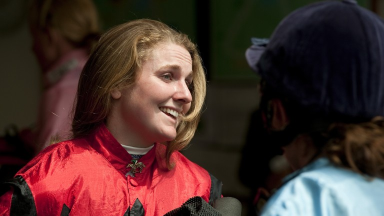 Hayley Moore: bids to improve the family's good Derby record