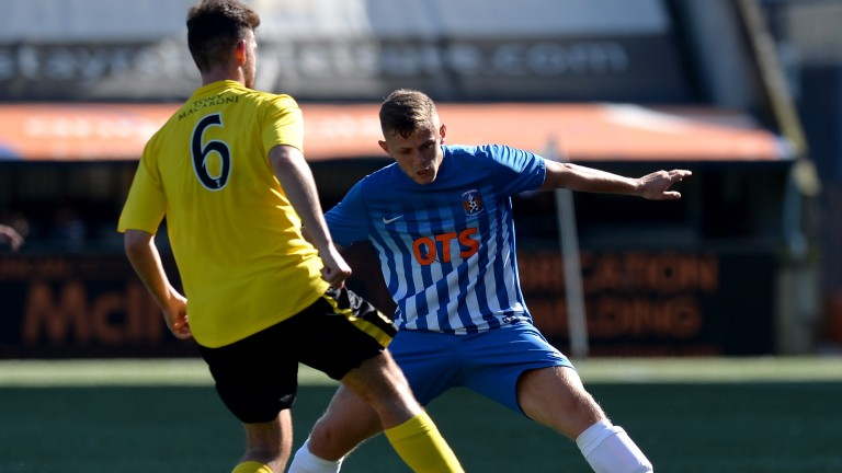 Calum Waters could feature for Kilmarnock