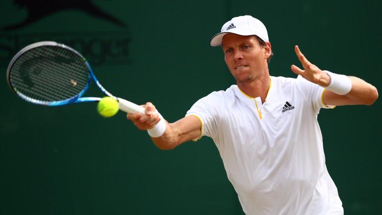 Wimbledon semi-finalist Tomas Berdych