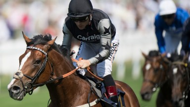 Rajasinghe (Stevie Donohoe) wins the Coventry StakesRoyal Ascot 20.6.17 Pic: Edward Whitaker