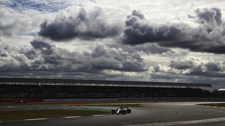 Valtteri Bottas impressed under threatening skies at Silverstone on Friday