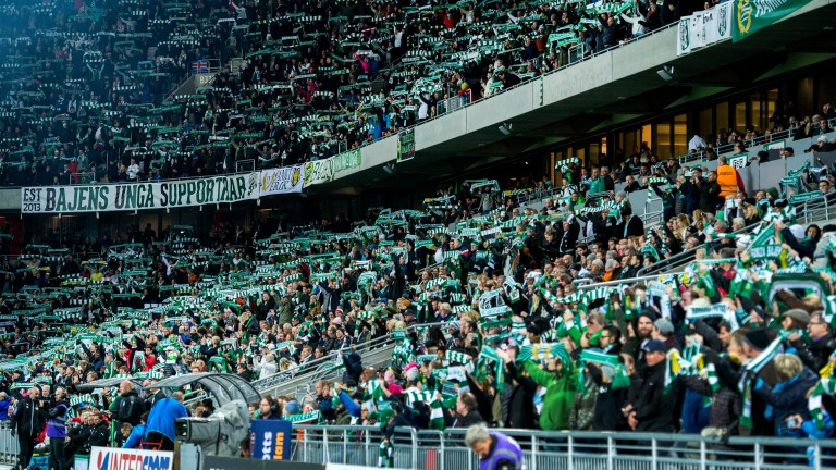 Hammarby's matches have been watched by more than 20,000 fans this season