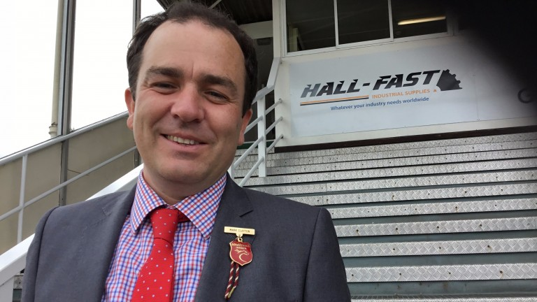 Mark Clayton: excited by plans for racing under floodlights at Southwell
