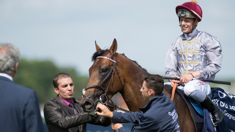 Jean-Claude Rouget still has the Arc in mind for dual Classic winner Brametot