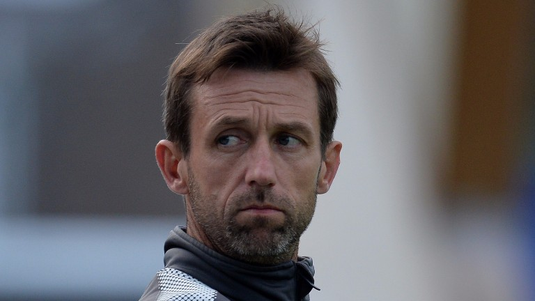 Dundee manager Neil McCann in pensive mood