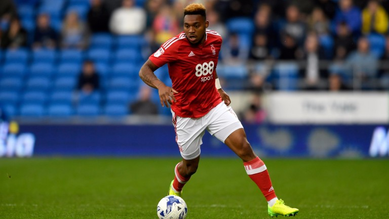 Britt Assombalonga looks set to leave Nottingham Forest