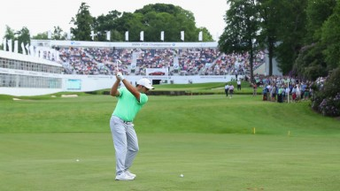 Francesco Molinari could be flying high this week
