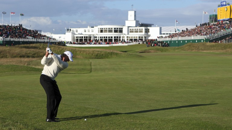 Greg Norman went agonisingly to Open glory in 2008