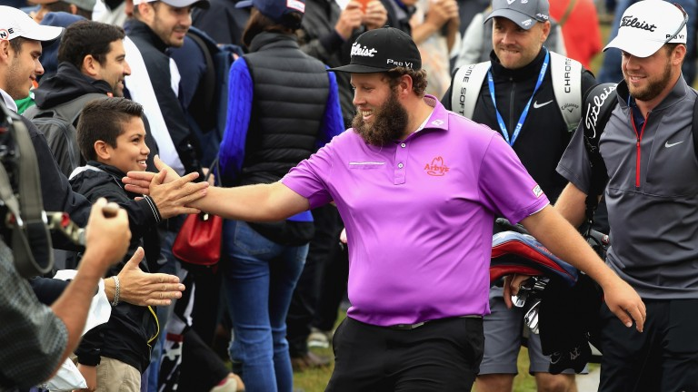 Andrew Johnston is popular with the galleries