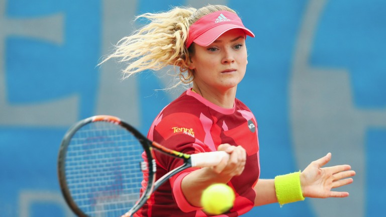 Tereza Martincova is a promising young Czech