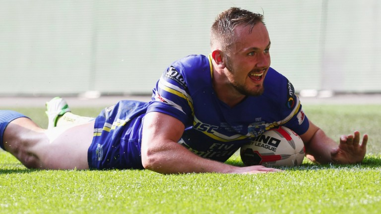 Warrington's Ben Currie