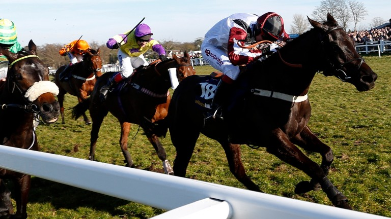 Ebony Express and Will Kennedy head for victory in the Imperial Cup