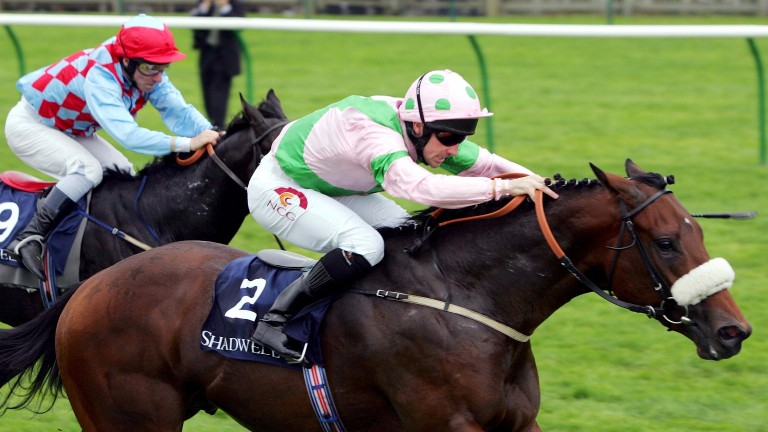 Amadeus Wolf defeats Red Clubs to land the 2005 Middle Park Stakes