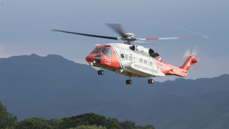 The air ambulance took Ana O'Brien to Cork University Hospital