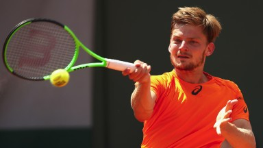 David Goffin may still be getting over his injury