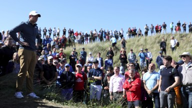 Rory McIlroy attracts plenty of attention