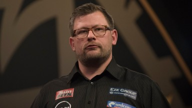 James Wade made a first-round exit at the Winter Gardens last year