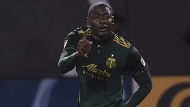 Portland striker Fanendo Adi may not be happy after this trip to Vancouver