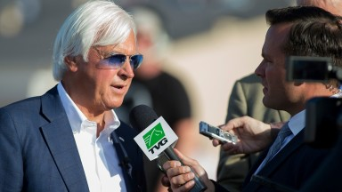 "Bob Baffert: ""I prepped him pretty much like usual"""