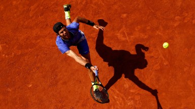 Karen Khachanov thrives on clay