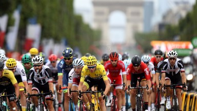 Chris Froome tasted glory in Paris again on Sunday