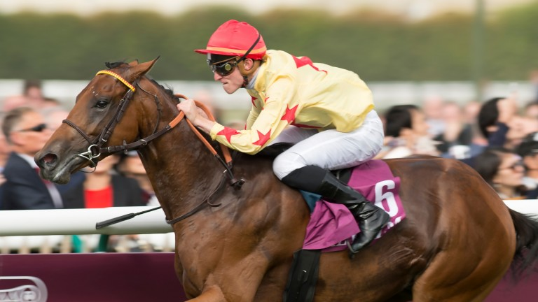 National Defense and Pierre-Charles Boudot win the Prix Jean-Luc Lagardere