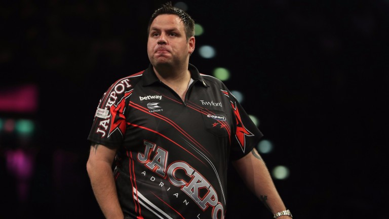 Adrian Lewis could be vulnerable in round two