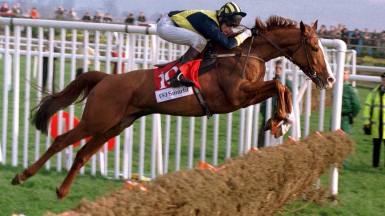 Make A Stand: one of two horses alongside Persian War to follow up in the Champion Hurdle after winning the race that is now the Betfair Hurdle