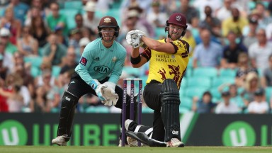 Somerset's Corey Anderson hits out against Surrey