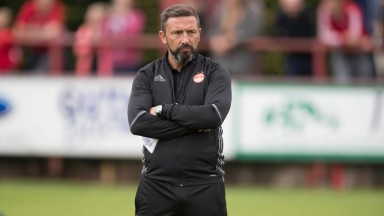 Aberdeen boss Derek McInnes could be in for a rough night