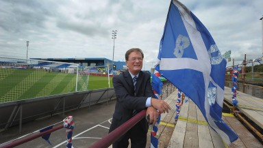 Peterhead chairman Rodger Morrison