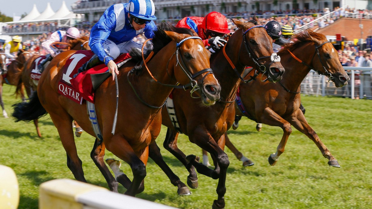 Glorious Goodwood: Stradivarius beats favourite Big Orange in Goodwood Cup