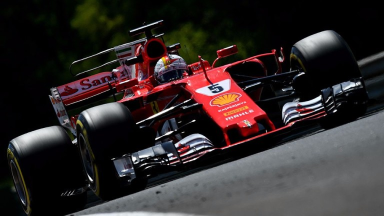 Sebastian Vettel won in Hungary despite handling issues