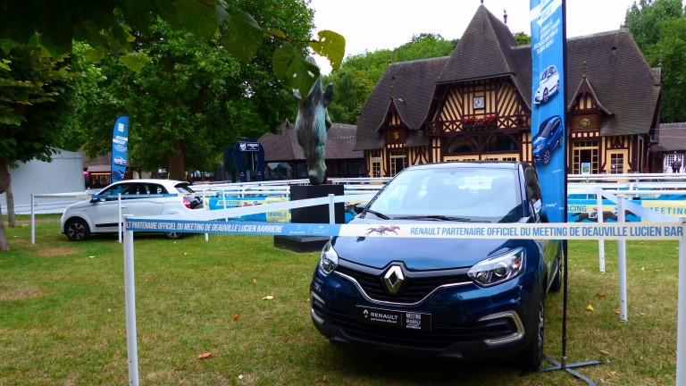 Every visitor to Deauville this August has the chance to win one of 18 cars